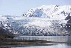 冰川海滩 免版税图库摄影