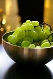 зеленый цвет виноградин свежих фруктов Стоковое фото RF