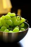 зеленый цвет виноградин свежих фруктов Стоковое Изображение RF
