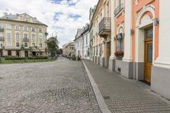 Улица в Кракове Стоковые Фотографии RF