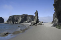 Пляж, утесы, рай Стоковое Изображение