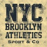 Оформление Нью-Йорка атлетического спорта Стоковая Фотография RF