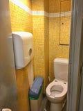 艾菲尔铁塔洗手间 库存照片