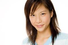 可爱的亚洲人 免版税库存照片