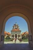 加冕正统大教堂,阿尔巴尤利亚,罗马尼亚 免版税库存图片