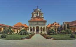 加冕大教堂,阿尔巴尤利亚,罗马尼亚 免版税图库摄影
