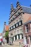 中世纪城镇厅纳尔登,荷兰 免版税图库摄影
