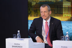 安德雷沙罗诺夫 免版税库存照片