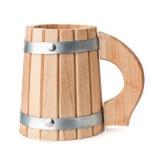 кружка пива деревянная Стоковое Изображение RF