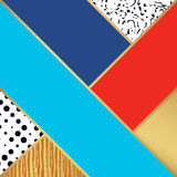 Картина абстрактного искусства Иллюстрация вектора для дизайна моды Стоковое Изображение