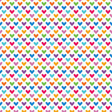Яркая красочная безшовная картина для стиля младенца Стоковое Изображение RF