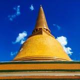 Изумрудный висок в Таиланде Стоковое фото RF