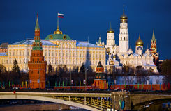 克里姆林宫莫斯科俄国 图库摄影