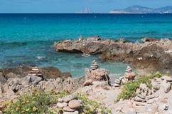 福门特拉岛,巴利阿里群岛,西班牙,欧洲 库存照片