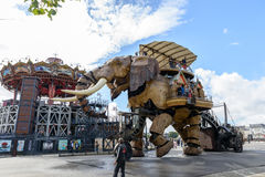 Ο μεγάλος ελέφαντας της Νάντης Στοκ εικόνες με δικαίωμα ελεύθερης χρήσης