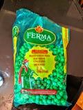 葡萄牙豌豆 库存照片