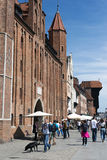 πόλη Γντανσκ παλαιό Στοκ Εικόνα
