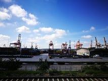Терминальный контейнер Стоковое Изображение