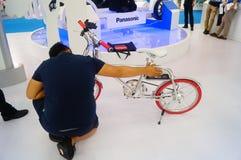 聪明的自行车 免版税库存照片