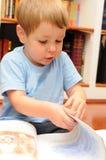 ανάγνωση παιδιών Στοκ εικόνα με δικαίωμα ελεύθερης χρήσης