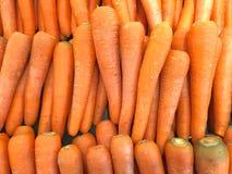 Морковь в рынке Стоковое Изображение