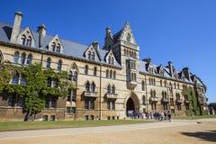 基督牛津大学的教会学院 库存图片