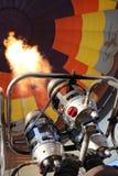 热气球的燃烧器 库存图片