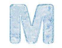 字体冰 库存图片