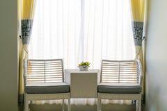 夫妇椅子 免版税图库摄影