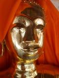 буддийская золотистая скульптура Стоковое Изображение RF