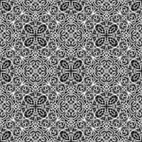 Черно-белая картина шнурка Стоковые Фотографии RF