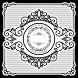 имеющийся сбор винограда вектора ярлыка конструкции Стоковые Изображения RF
