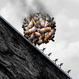 Опасности курить Стоковые Изображения RF