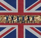 Внутренняя экономика Британии Стоковое Изображение RF