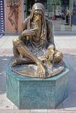Μνημείο του επαίτη Στοκ φωτογραφίες με δικαίωμα ελεύθερης χρήσης