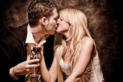 поцелуй Стоковые Фотографии RF