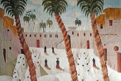 египтянин ковра Стоковое Фото