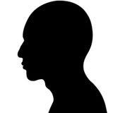 головной человек Стоковые Фотографии RF