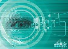 ψηφιακό μάτι Στοκ Εικόνες
