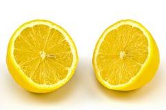 отрежьте лимон Стоковые Изображения RF
