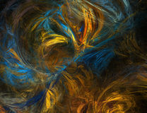 фракталь предпосылки Стоковая Фотография RF
