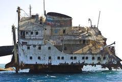船击毁 免版税图库摄影