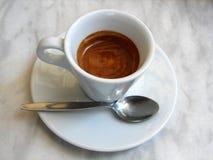 咖啡馆浓咖啡 库存照片