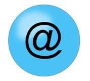 按钮电子邮件 库存照片
