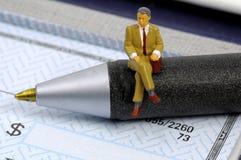 企业检查 免版税库存照片
