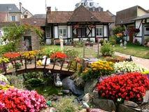 дом цветов Стоковое Изображение RF