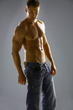 мужчина тела Стоковое Изображение RF