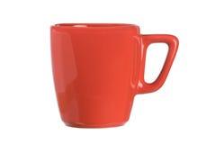 杯子红色 免版税图库摄影