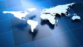 мир карты Стоковые Изображения RF