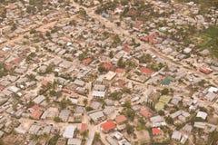 африканский посёлок Стоковое Изображение